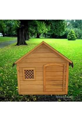 Garden Kapılı Köpek Kulübesi Yeşil