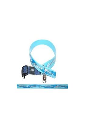 Rogz Cb 03 L-Fishbone Blue 16-32 C Kedi Boyun Tasması