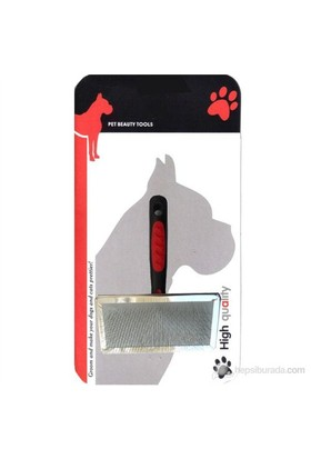 Luxury Paws Plastik Saplı Metal Fırça XL 18 cm