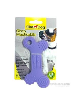 """Gimdog Köpek Oyuncağı Silikon Yassı Kemik 5"""" 80501"""