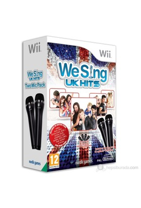 Nintendo OYUN Wii We Sing UK Hits with2microphone