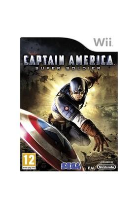Nintendo OYUN Wii Captain America Super Soldier