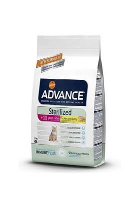 Advance Cat Sterilized +10 İleri Yaşlı Kısırlaştırılmış Kedi Maması 1,5Kg
