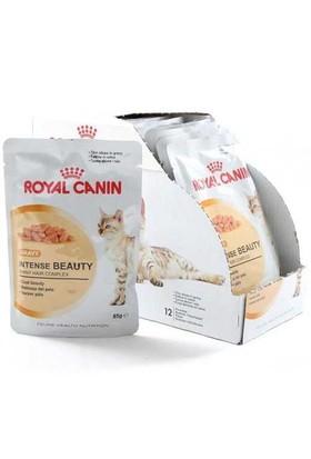 Royal Canin İntense Beauty Gravy Soslu Parçali Mama 85 Gr