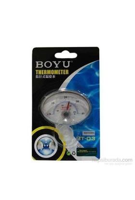 Boyu Bt-03 Mekanik Göstergeli Oval Termometre