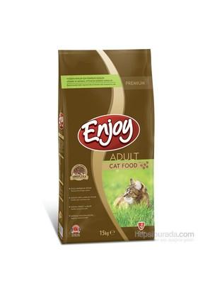 Enjoy Cat Food Yetişkin Kedi Maması 15 Kg