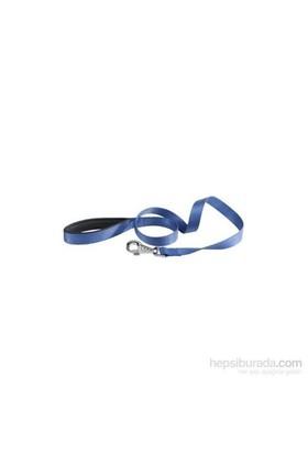 Pet Style Yumuşak Dokulu Köpek Gezdirme Tasması Mavi 120 X 2 Cm
