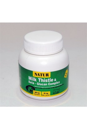 Natur Milk Thistle & Beta-Glucan Complex 45 Tablet