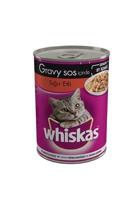 Whiskas Konserve Erişkin Biftekli Kedi yaş 400 Gr