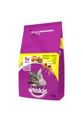 Whiskas Tavuk&Sebze Kedi Maması 1,4kg