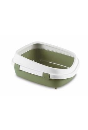 Stefanplast Queen Açık Kedi Tuvaleti Yeşil