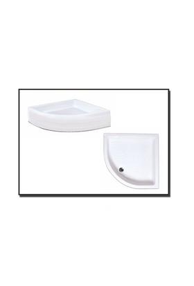 Duşaduş Akr002 Oval Panelli Duş Teknesi 90 Cm X 90 Cm