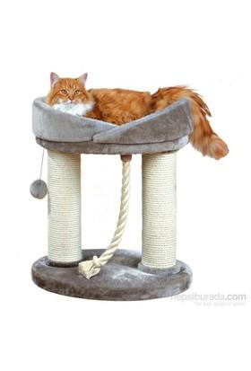 Trixie kedi oyun tırmalama evi 60 cm, gri