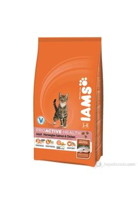 Iams Adult Salmon & Chicken Somonlu Kedi Maması 1,5 Kg