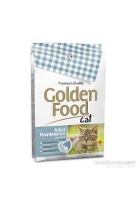 Golden Food Cat Adult Maintenance With Fish 12,5 Kg (Balıklı Yetişkin Kedi Maması)