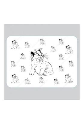 Trend Store Şişko Kedi Mama Servis Altlığı