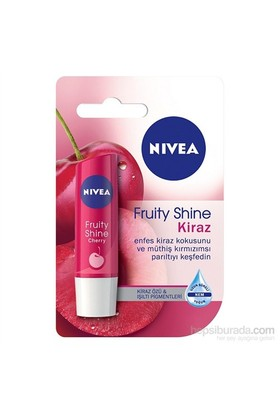 Nivea Lip Care Fruity Shine Kiraz Dudak Koruyucu