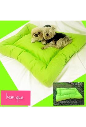 Kemique 2X-Large Dış Mekan Köpek Minderi - Fosforlu Yeşil