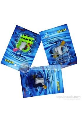 Prusa Fishing Kulak Burun Tıkacı Set Mavi Renk