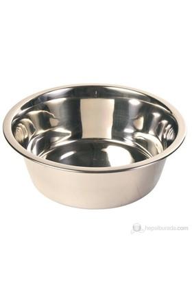 Trixie Köpek Paslanmaz Çelik Su Kabı, 4.5 L/Ø28 Cm