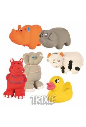 Mini LATEX Köpek Oyuncakları Mini Hayvanlar 9cm