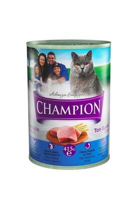 Champion Ton Balıklı Konserve Kedi Maması 415 Gr 24 Adet