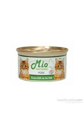 Mio Kuzu Ve Av Etli Yetişkin Kedi Konservesi 85Gr