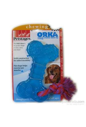 Petstages Orka Bone (Patentli Orka Malzemesi, Sağlığa Zararsız, İçine Ödül Konulabilir Köpek Oyuncağı)