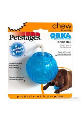 Petstages Orka Tenis Ball (Patentli Orka Malzemesi, Sağlığa Zararsız, İçine Ödül Konulabilir,Süper Esnek Top, Köpek Oyuncağı)