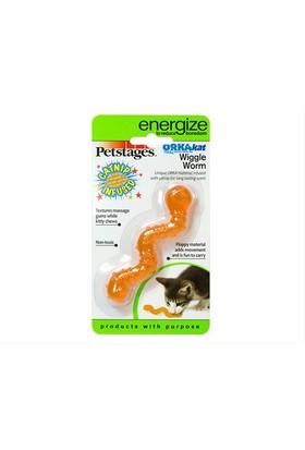 Petstages Orka Cat Wiggle Worm (Catnipli Kauçuk , Solucan ,Diş Kaşıyıcı, Kedi Oyuncağı)