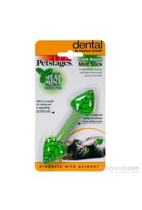 Petstages Fresh Breath Mint Stick (Catnipli Ve Naneli Kedi Oyuncağı, Diş Temizliği, Ağız Bakımı Yapar,Ağız Kokusunu Yok Eder)