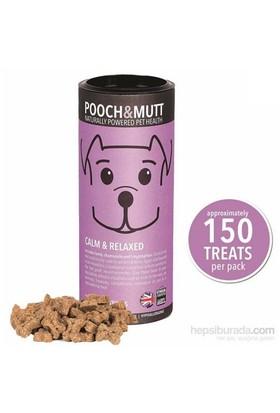 Pooch & Mutt Calm & Relaxed Sakinleştirici Doğal Köpek Ödülü 150 Adet , Hipoalerjik, Elde Pişirilmiş, Doğal, Katkısız )