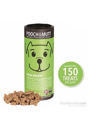 Pooch & Mutt Fresh Breath Ağız Kokusu Önleyici Köpek Ödülü 150 Adet , Hipoalerjik, Elde Pişirilmiş, Doğal, Katkısız )