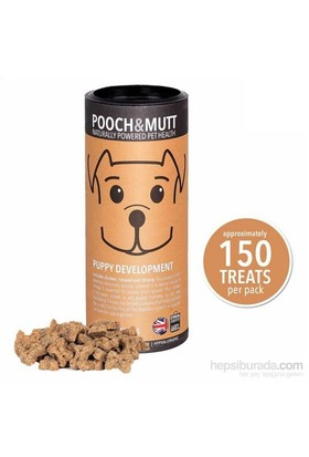 Pooch & Mutt Puppy Development Doğal Yavru Köpek Ödül Bisküvisi 150 Adet,Hipoalerjik, Elde Pişirilmiş, Doğal, Katkısız )