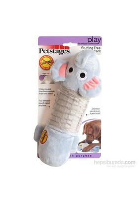 Petstages Big Squeak Gator (Özel yapısı sayesinde , içi dolgu malzemesiz , sesli , peluş köpek oyuncağı )