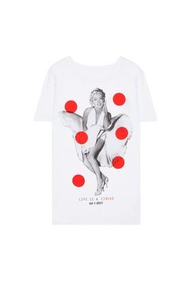 My T-Shirt Marilyn Vestito Bolli T-Shirt