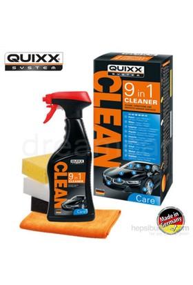 Quixx 9in1 9 Bölge Derinlemesine Temizlik Kiti Made in Germany 38179