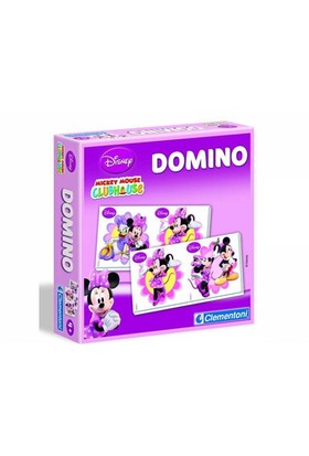 Clementoni Çocuk Domino Pocket Minnie