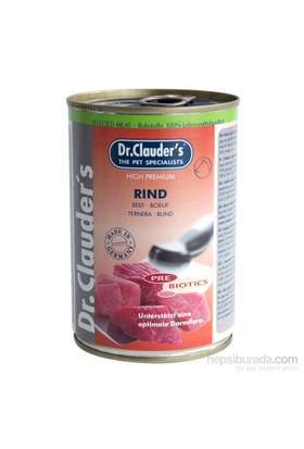 Dr. Clauder'S Biftek Köpek Seleksiyon Konserve (Prebiyotik Desteği) 400 Gr