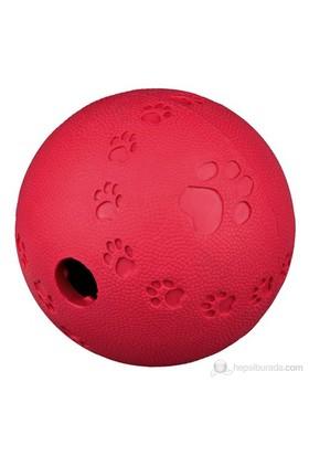 Trixie köpek oyuncağı , ödüllü kauçuk top 9cm Mavi