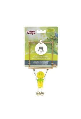 Living World Kuş Oyuncağı Trapez - Sarı
