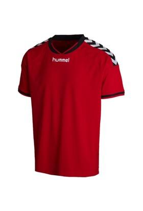 Hummel Stay Authentic Erkek Kımızı Tişört (03554-3062)