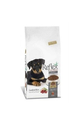 Reflex Kuzulu Ve Pirinçli Yavru Kuru Köpek Maması 3 Kg