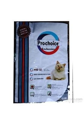 Pro Choice Exclussive Kısırlaştırılmış Kedi Maması 15 Kg