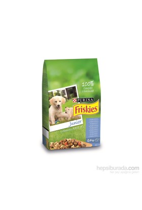 Friskies Tavuklu Ve Sebzeli Yavru Köpek Maması 2,4 Kg