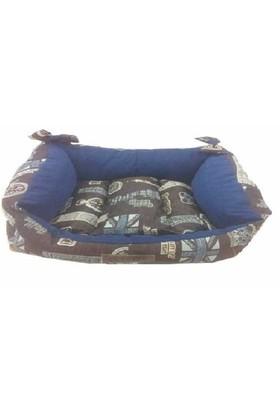 Puki Köpek Yatağı Divan Model Özel Kumaş No:3