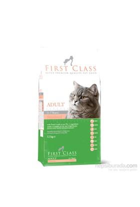 First Class Kuzu Etli Pirinçli Kısırlaştırışmış Yetişkin Kedi Maması 12 Kg