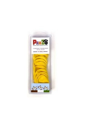 Pawz Köpek Galoşu Xx Small ( Yellow ) 12'Li