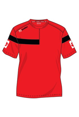 Lotto Costa Pl Erkek Kırmızı Tişört (N1871)