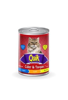 Quik Kedi Ciğer-Tavşan Konservesi 415 Gr